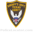 Texas County Sheriff's Office Patch