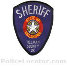 Tillman County Sheriff's Office Patch