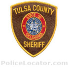 Tulsa County Sheriff's Office Patch
