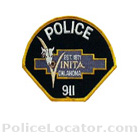 Vinita Police Department Patch