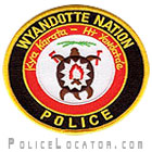 Wyandotte Nation Tribal Police Department Patch