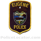 Eugene Police Department Patch