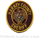 Harney County Sheriff's Office Patch
