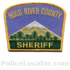 Hood River County Sheriff's Office Patch