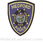 Medford Police Department Patch