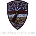 Nyssa Police Department Patch
