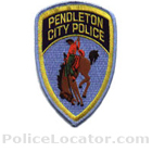 Pendleton Police Department Patch