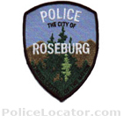 Roseburg Police Department Patch