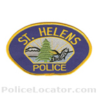 St. Helens Police Department Patch
