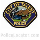 Talent Police Department Patch