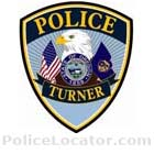 Turner Police Department Patch