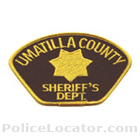 Umatilla County Sheriff's Office Patch