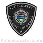 University of Oregon Department of Public Safety Patch
