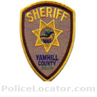 Yamhill County Sheriff's Office Patch