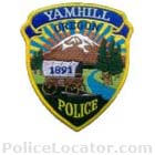 Yamhill Police Department Patch