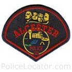 Alcester Police Department Patch