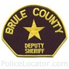 Brule County Sheriff's Department Patch