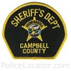 Campbell County Sheriff's Office Patch