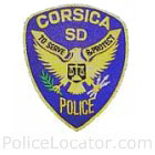 Corsica Police Department Patch