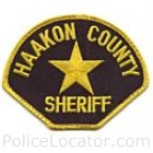 Haakon County Sheriff's Office Patch